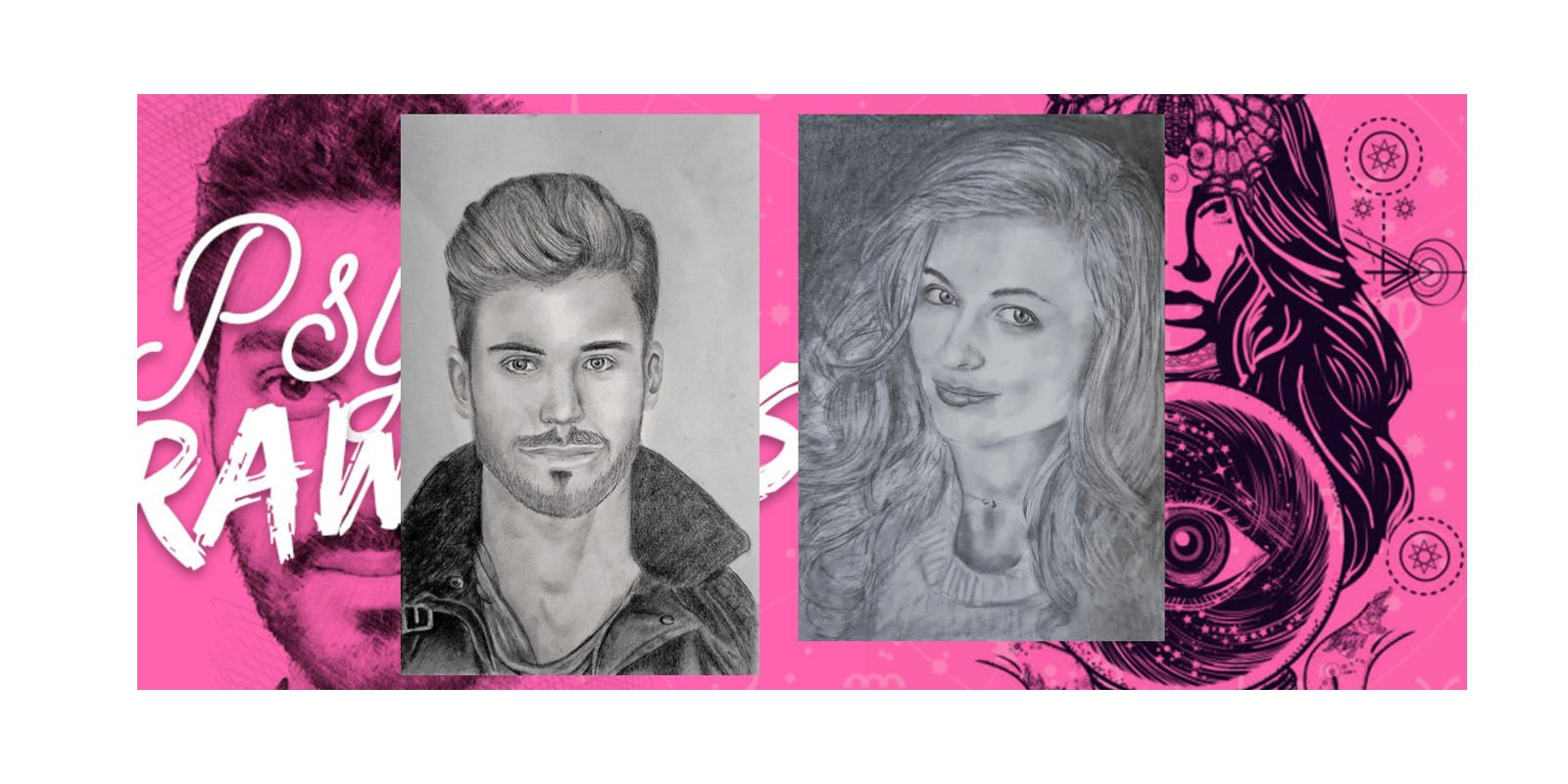 Psychic Soulmate Sketch customer images